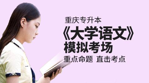 重庆市专升本《大学语文》模拟考场
