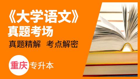 重庆市专升本《大学语文》真题考场