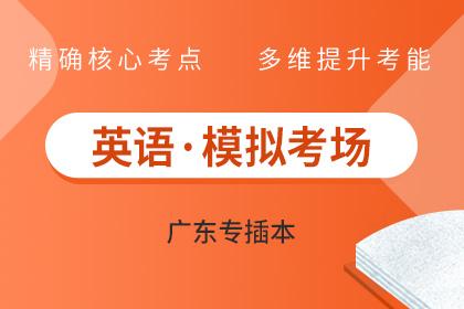 广东专插本英语试题模拟考场