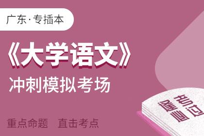 广东专插本大学语文考前冲刺模拟考场
