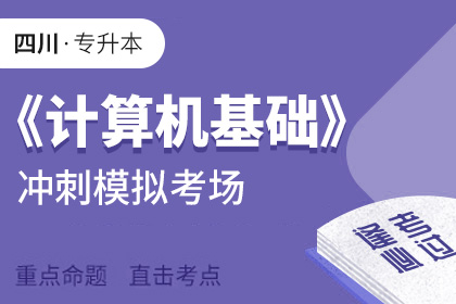 四川省专升本《计算机基础》考前冲刺模拟考场