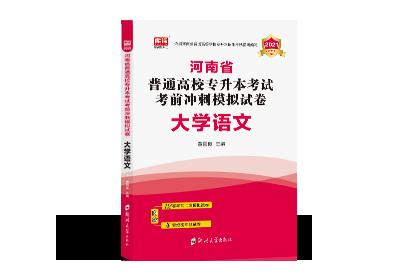 2021年河南专升本考前冲刺模拟试卷-语文