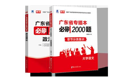 2021年广东专插本考试政治理论+大学语文 (必刷题)
