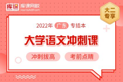 2022年广东专插本语文冲刺课(预售)