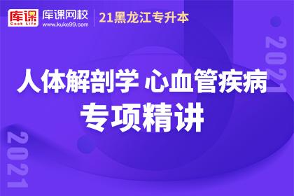 黑龙江专升本·人体解剖学【心血管疾病】专项精讲