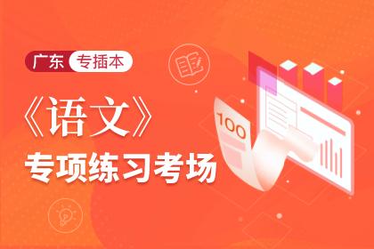 2021年广东专插本语文专项练习考场
