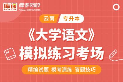 云南专升本大学语文模拟练习考场