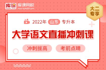 2022年山东专升本语文直播冲刺课