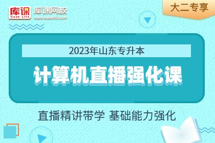 2023年山东专升本计算机基础强化精讲•大二专享