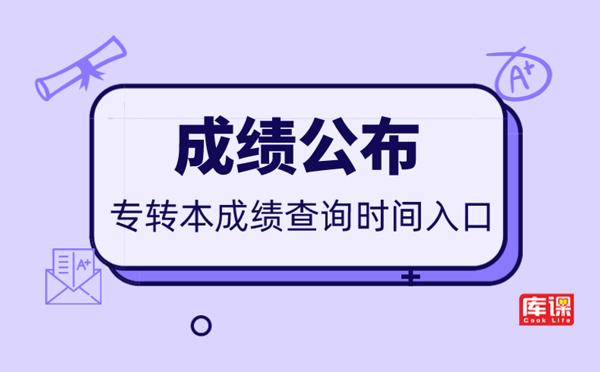 2020年山东省专升本成绩查询时间