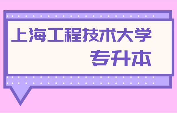 上海工程技术大学专升本官网