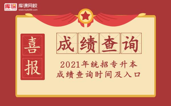 2021年各省份专升本成绩公布时间及查询入口