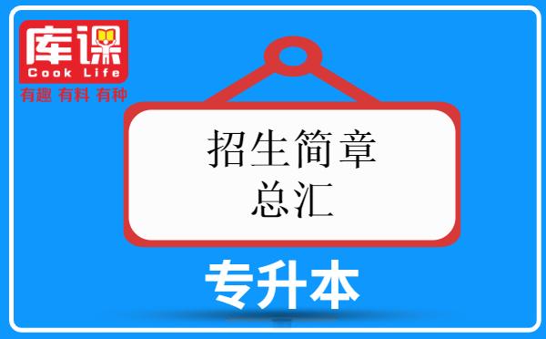 2021年上海普通高校专升本招生简章总汇