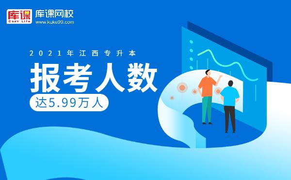 官方!2021年江西专升本报考人数达到5.99万人!