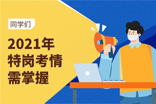 2021年河南省特岗教师考试日程表