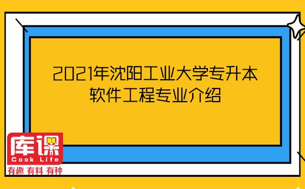 2021年沈阳工业大学专升本软件工程专业介绍