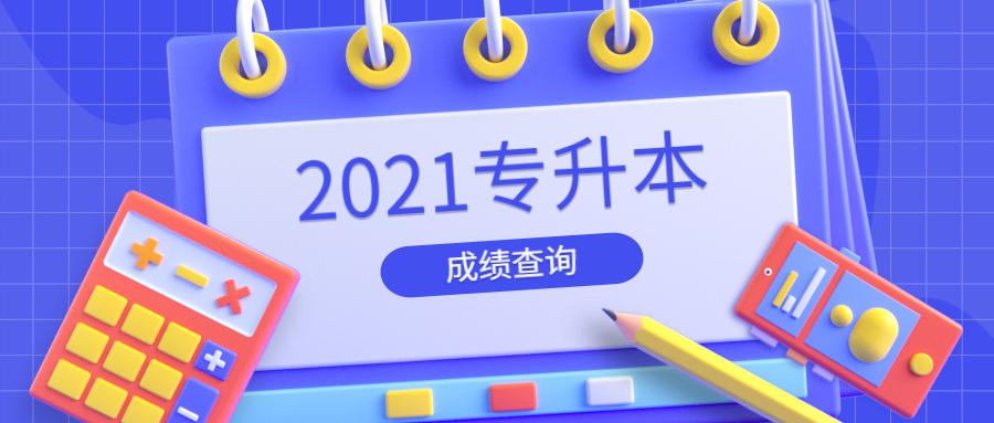 安徽财经大学2021年普通专升本成绩查询网址