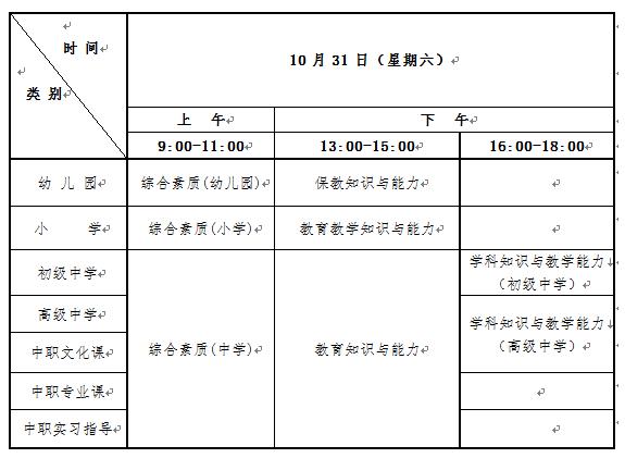 河南省2020年下半年中小学教师资格考试(笔试)报名公告