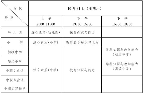 湖北省2020年下半年中小学教师资格考试笔试报名公告