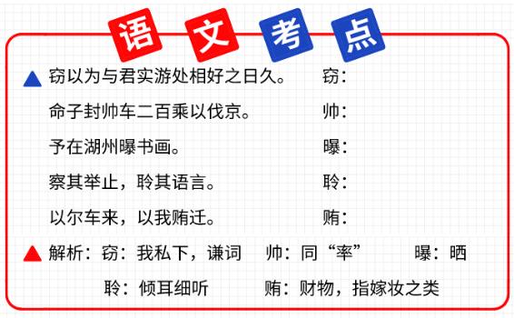 2021年陕西专升本考点分享(5)